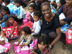 HUMANITARIAN  - One of Karin's missions is to share her heart and encourage people all over the world through God's love.