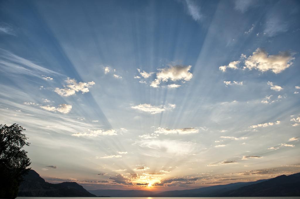 Rays of Light ©  Claude Brunc