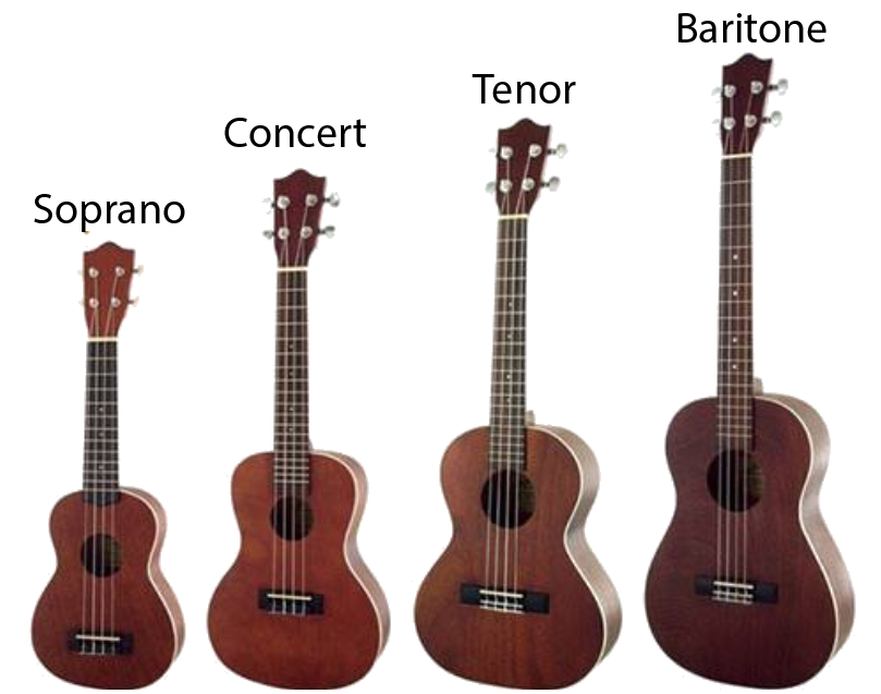 Ukulele Sizes and Types