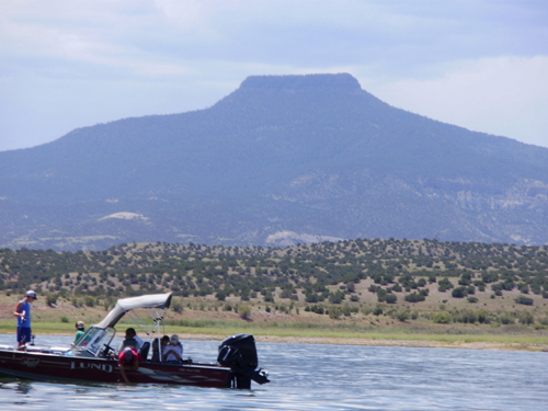 Abiquiu Lake and the Grand Pedernal
