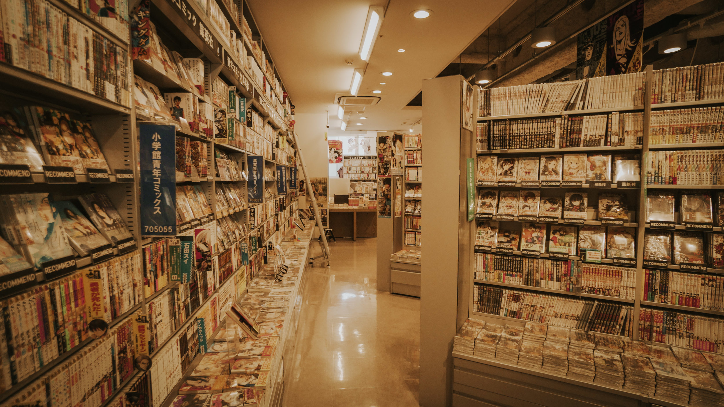 Dozens of rows jam-packed with a variety of manga, anime, and hentai to fulfill your reading experience.