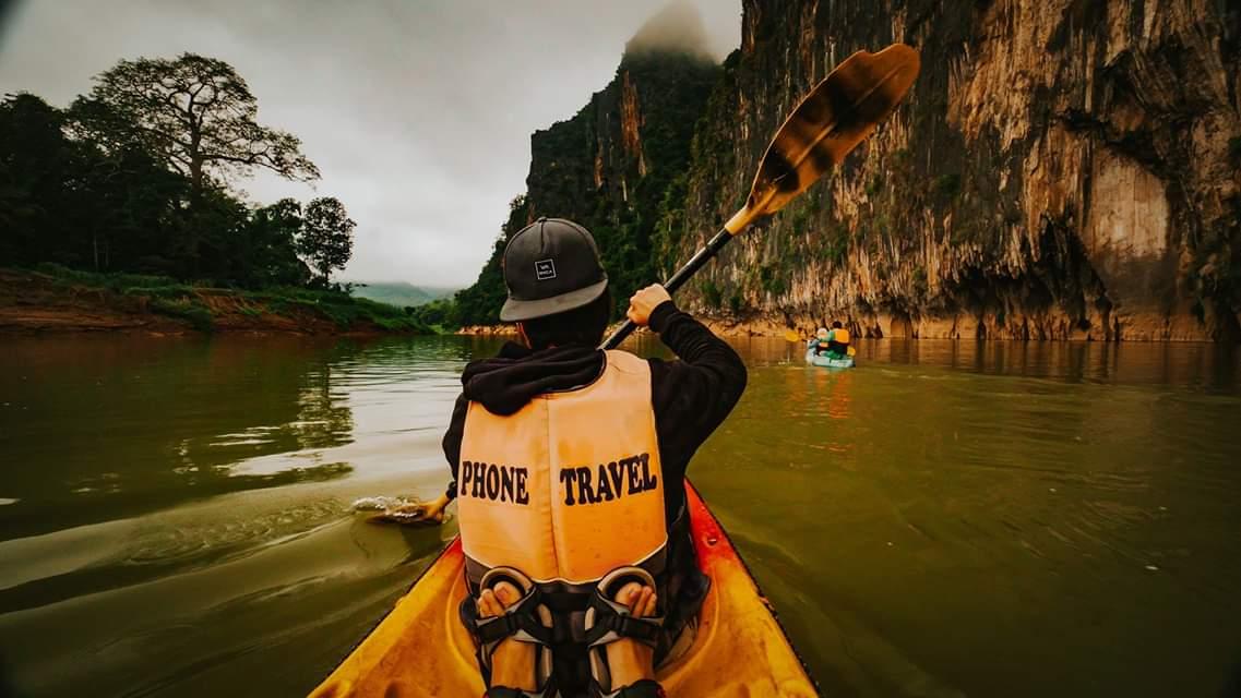 Kayaking through the Mekong Delta