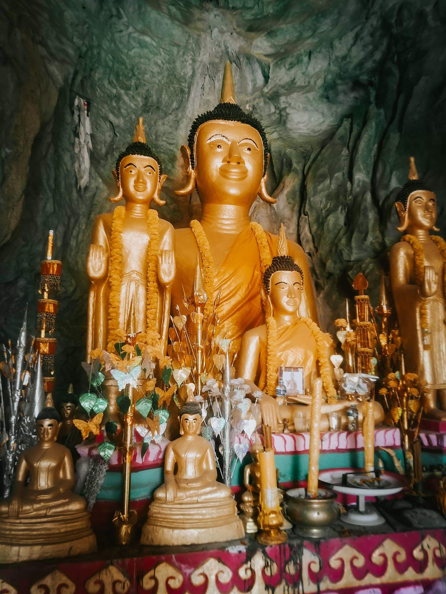 Statues in the Elephant Cave