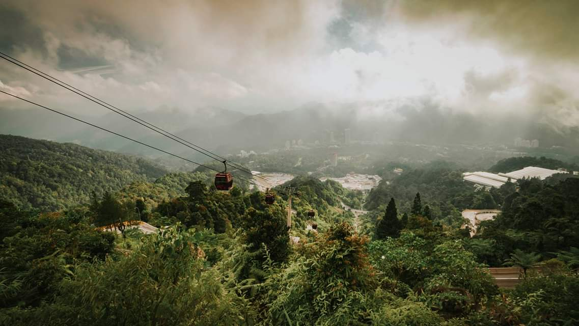 Gondola in the Genting Highlands