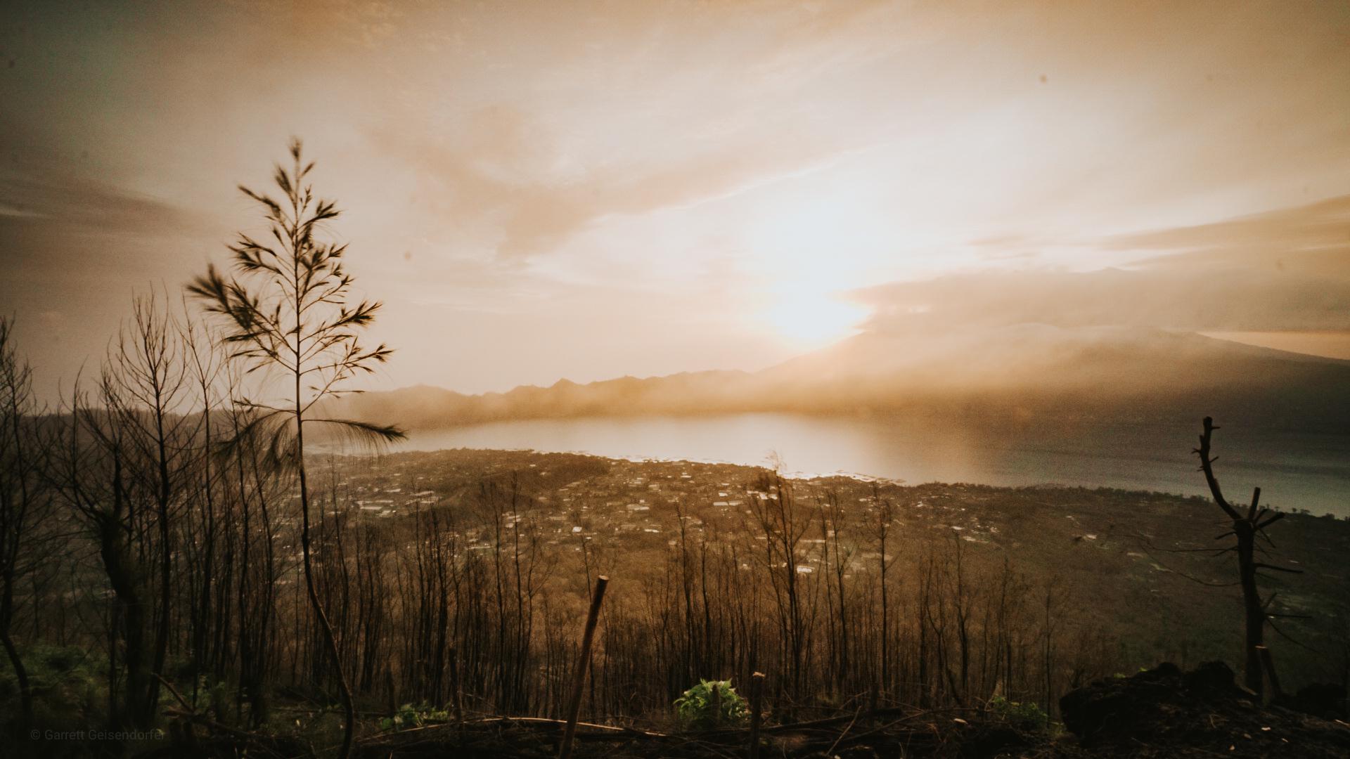 Sunrise at Mt. Batur