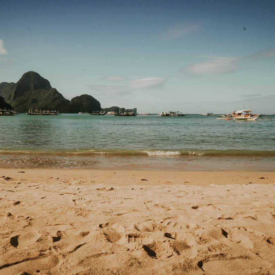 Beach. El Nido, Palawan, Philippines,