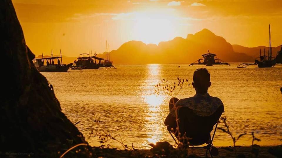Reflection. El Nido, Palawan, Philippines.