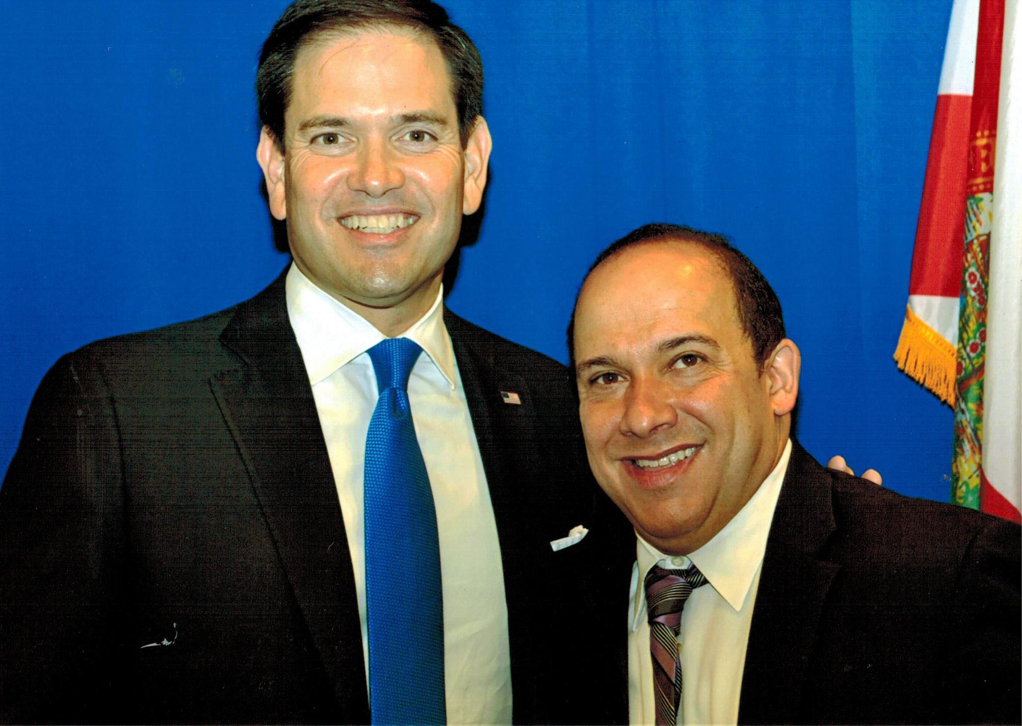 JB with U.S. Senator Marco Rubio