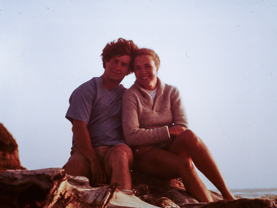 The beginnings...Earl & Glenna Alderson --photo courtesy of Earl & Glenna