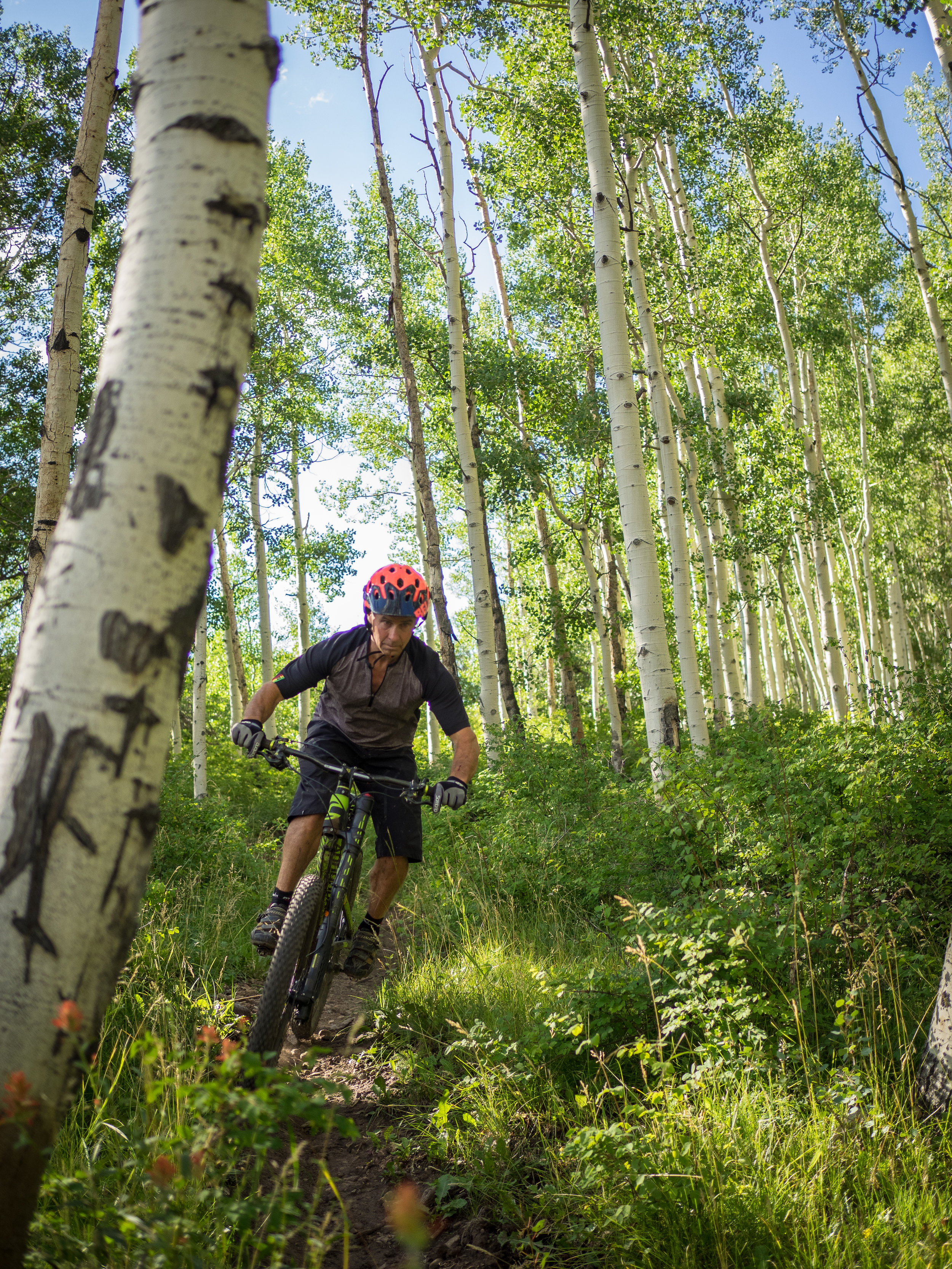 Earl finds his flow in the San Juan Mountains of southern Colorado.-- photo courtesy of the LC