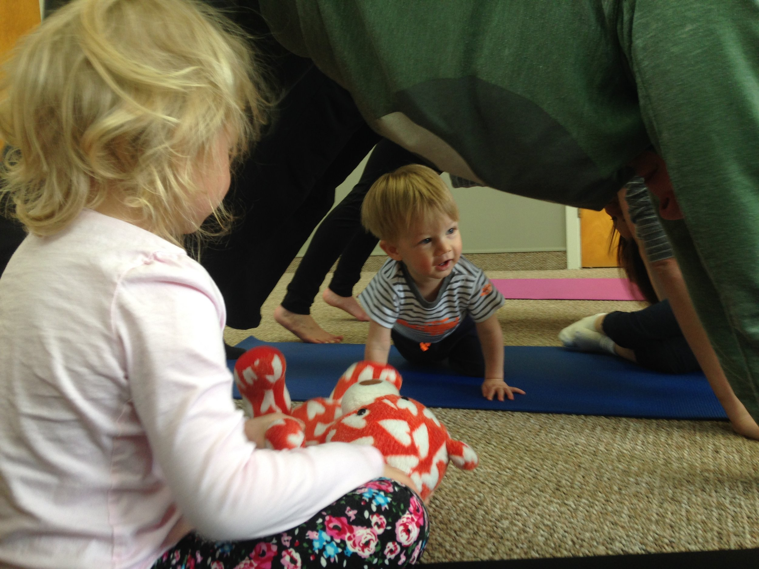 Tyke Itsy Bitsy Yoga® - Ages 2 - 4, with parent or caregiverFacilitator: Sheryl Haynes