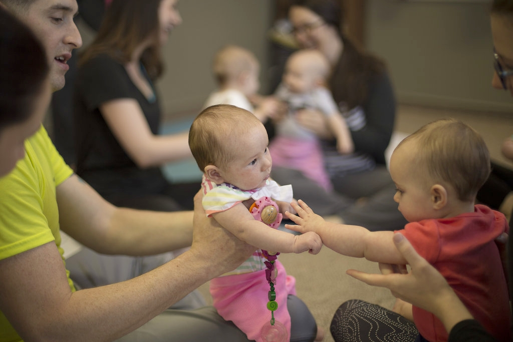 Baby Itsy Bitsy Yoga® - 6 weeks to pre-crawling, with parent or caregiverFacilitator: Sheryl Haynes