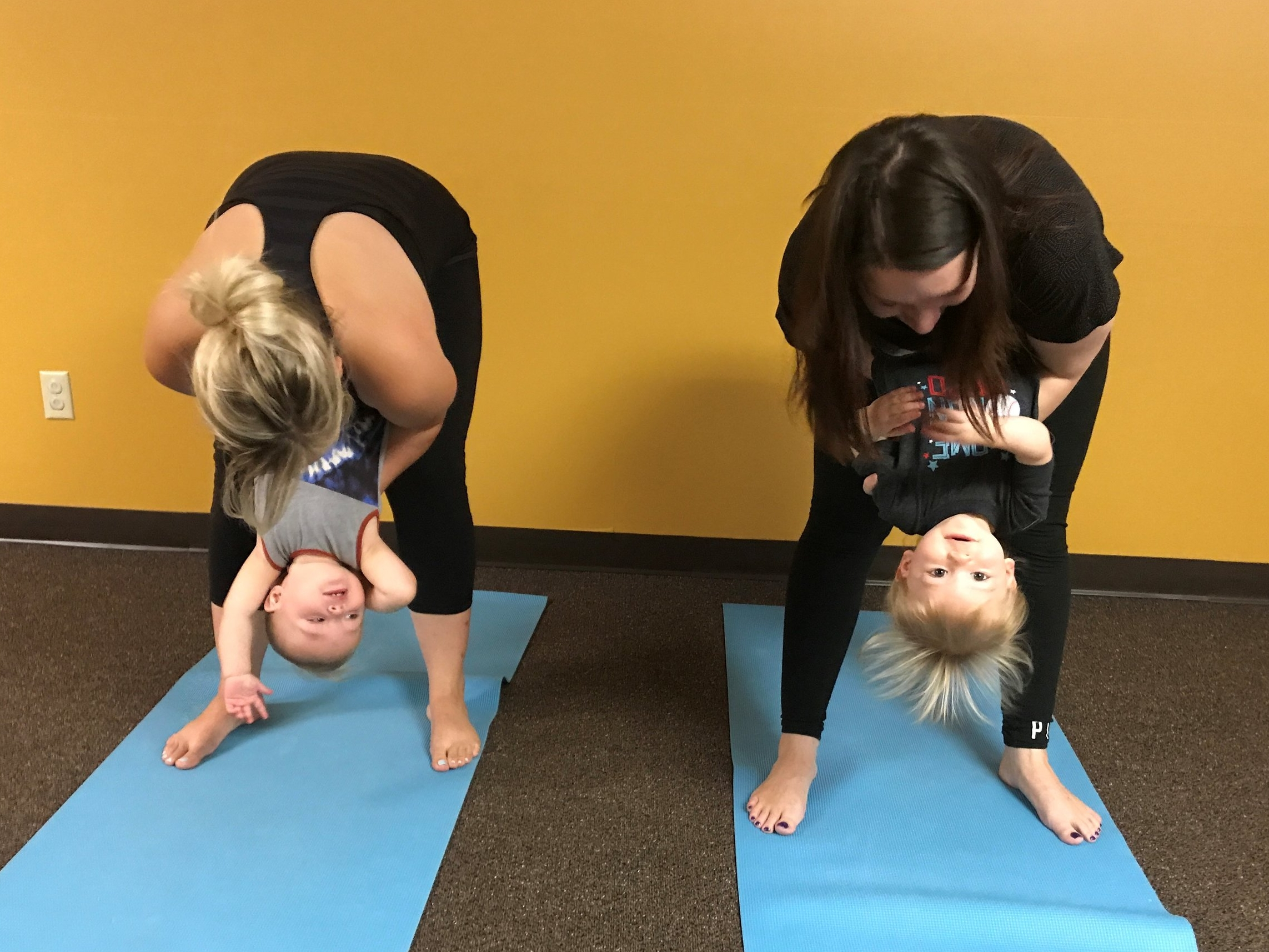 Tot Itsy Bitsy Yoga® - Active crawlers to 24 months, with parent or caregiverFacilitator: Sheryl Haynes