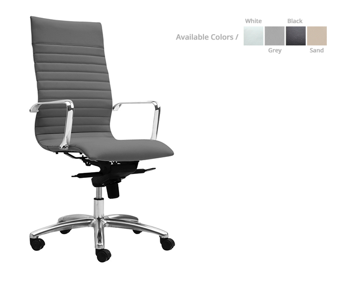 Zetti high-back/ executive chair - List Price: 545| Special price: $ 329 *(No Tax Included)