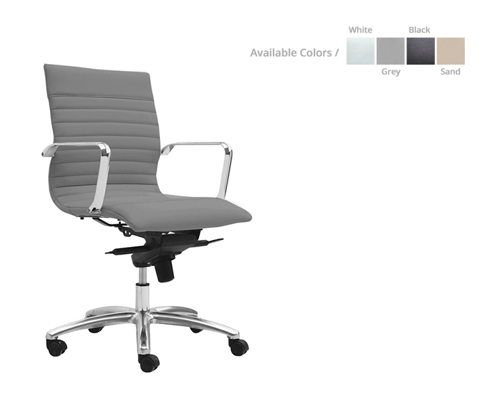 Zetti Mid-back/ executive Conference chair - List Price: $525 | Special price: $ 315 *(No Tax Included)