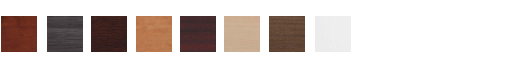 AVAILABLE FINISHES:  CHERRY, GRAY, ESPRESSO, HONEY, MAHOGANY, MAPLE, MODERN WALNUT, WHITE.