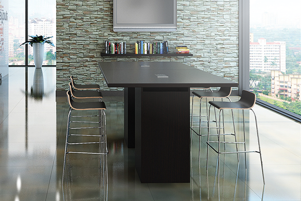 "High Conference | Social Table C058' Feet (for 6 People) - Size: 95'' W x 47"" D x 42"" HOriginal price: $ 1,848 