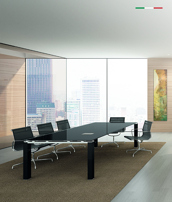 JET EVO COLLECTIONPolished edges and glassy finish. - Design by Perin & Topan. Made in Italy. Starting at: $1,869