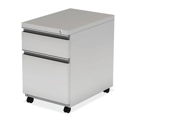 "Start Up | 2 Drawers Metal - Box & File Pedestal - Dimensions: 15"" W x 22"" D x 22- 1/4"" HOriginal price $ 399 | Sale price: $ 199"