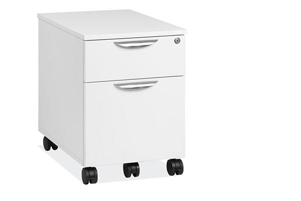 "Start Up | 2 Drawers Laminate - Box & File Pedestal - Dimensions: 16"" W x 22-1/2"" D x 22- 1/2"" HOriginal price : $509 | Sale price: $ 259"