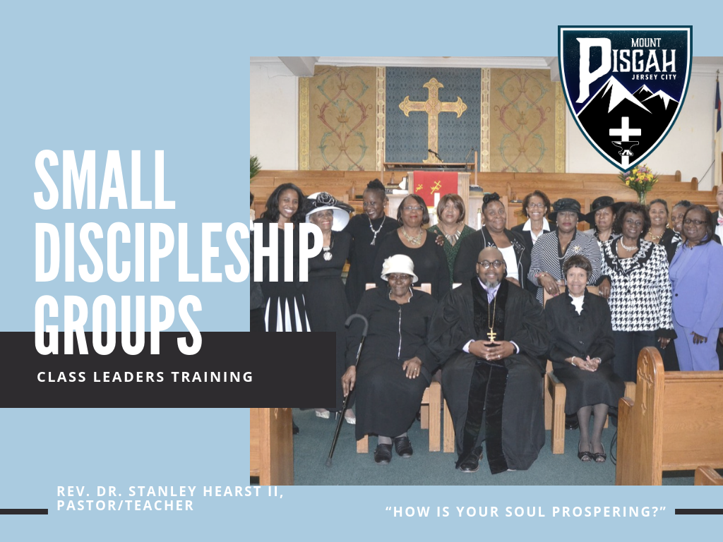 Class Leaders Packet - Click HERE for our Class Leaders Packet. The Class System is at the heart of Methodism, and we believe our Small Discipleship Groups help disciples of Jesus grow in the faith.