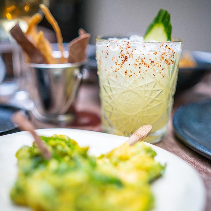 THE TEQUILA MOCKINGBIRD  - Don Julio blanco, St Germaine elderflower liqueur, jalapeño, cucumber, lemon, agave.