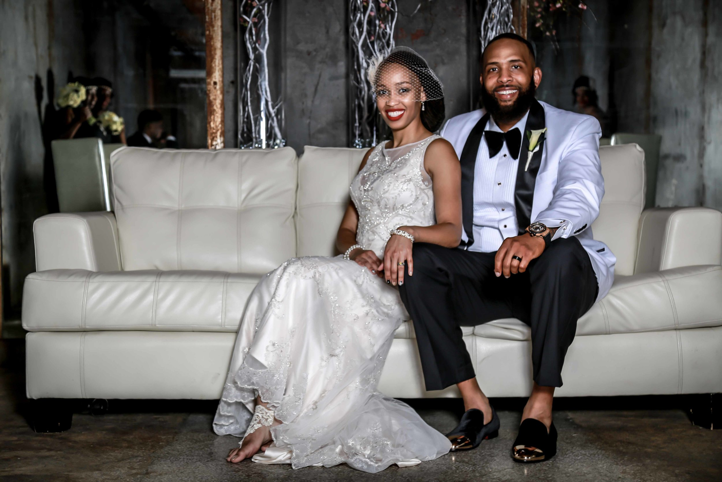 African Black couple wedding photographer and poses in Memphis Collierville TN.jpg
