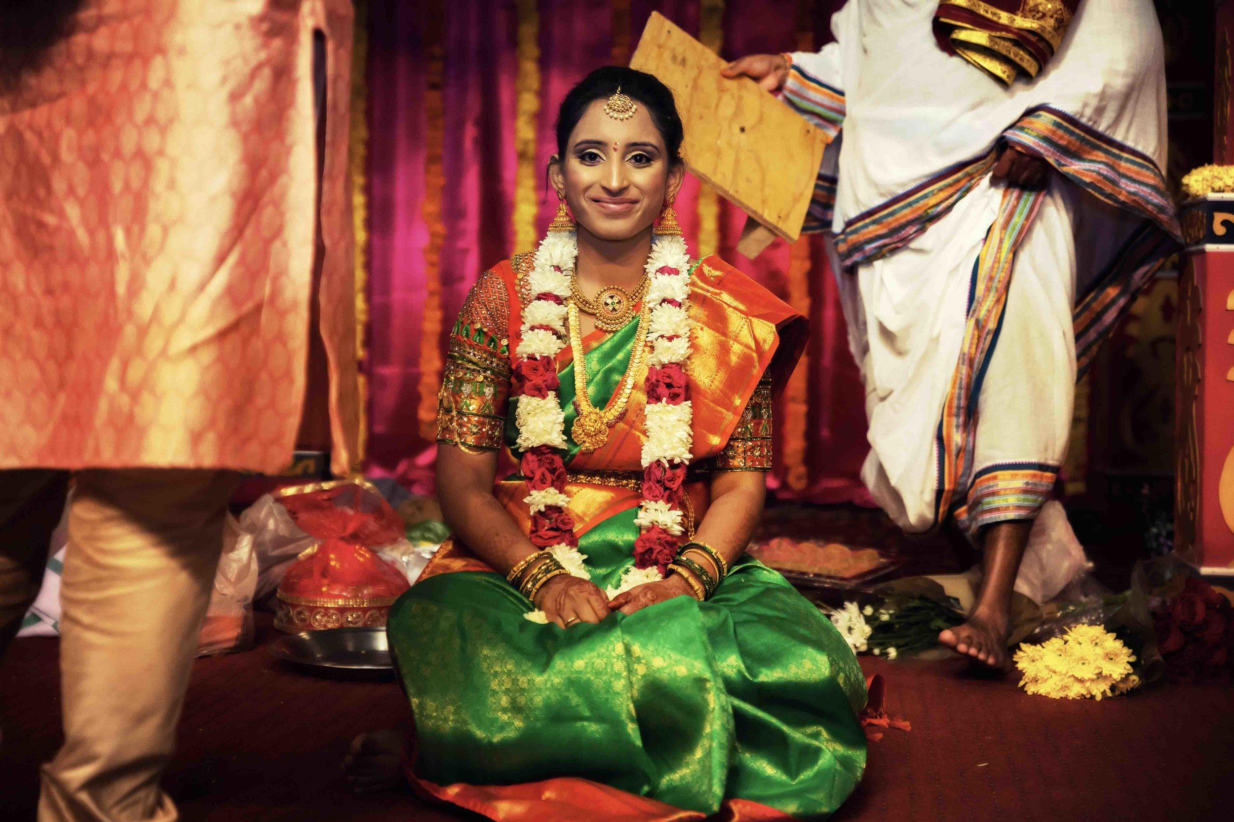 Indian Bride and Mandir Pooja wedding photographer in memphis collierville tn.jpg