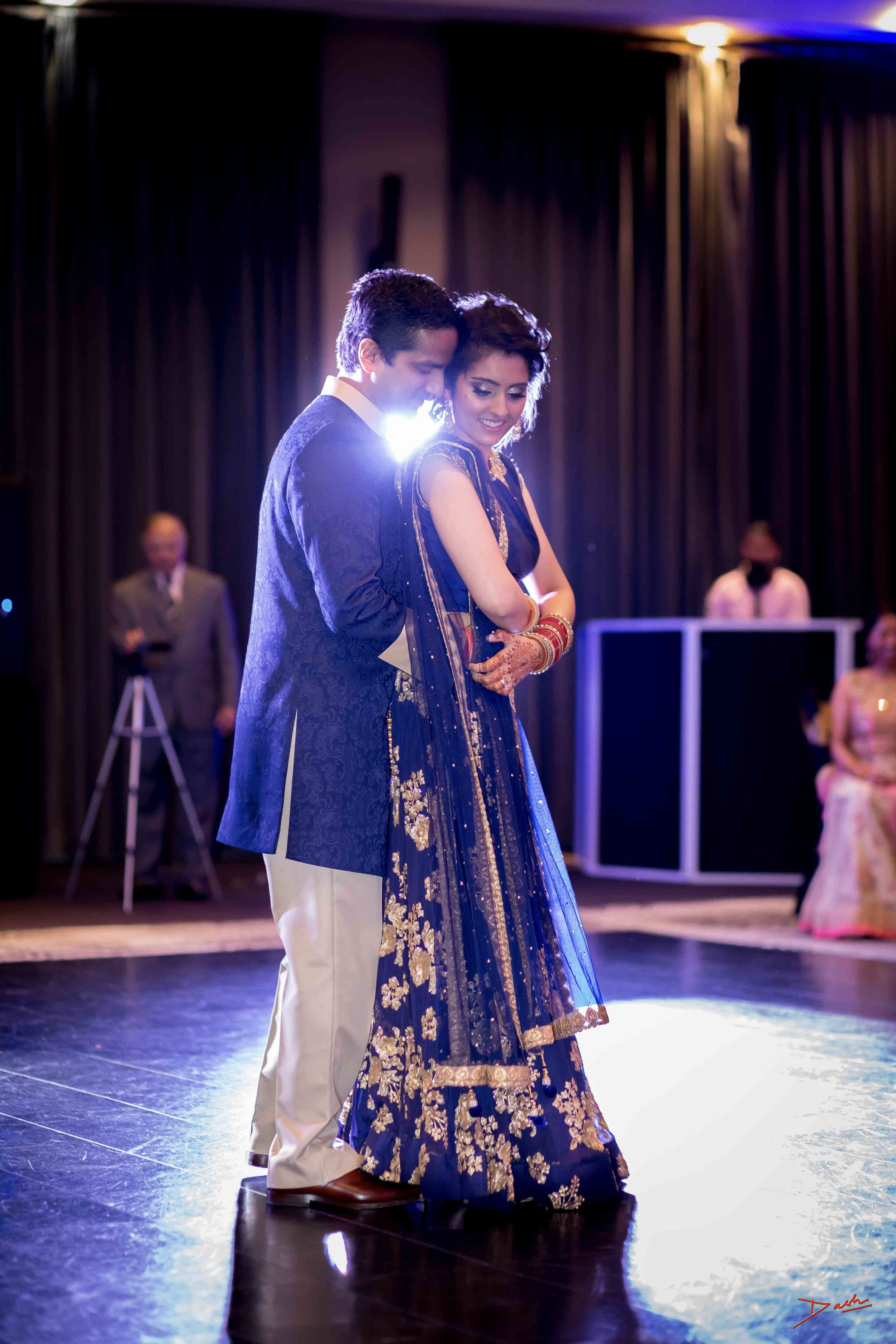 indian couple first dance wedding photographer in memphis collierville TN.jpg