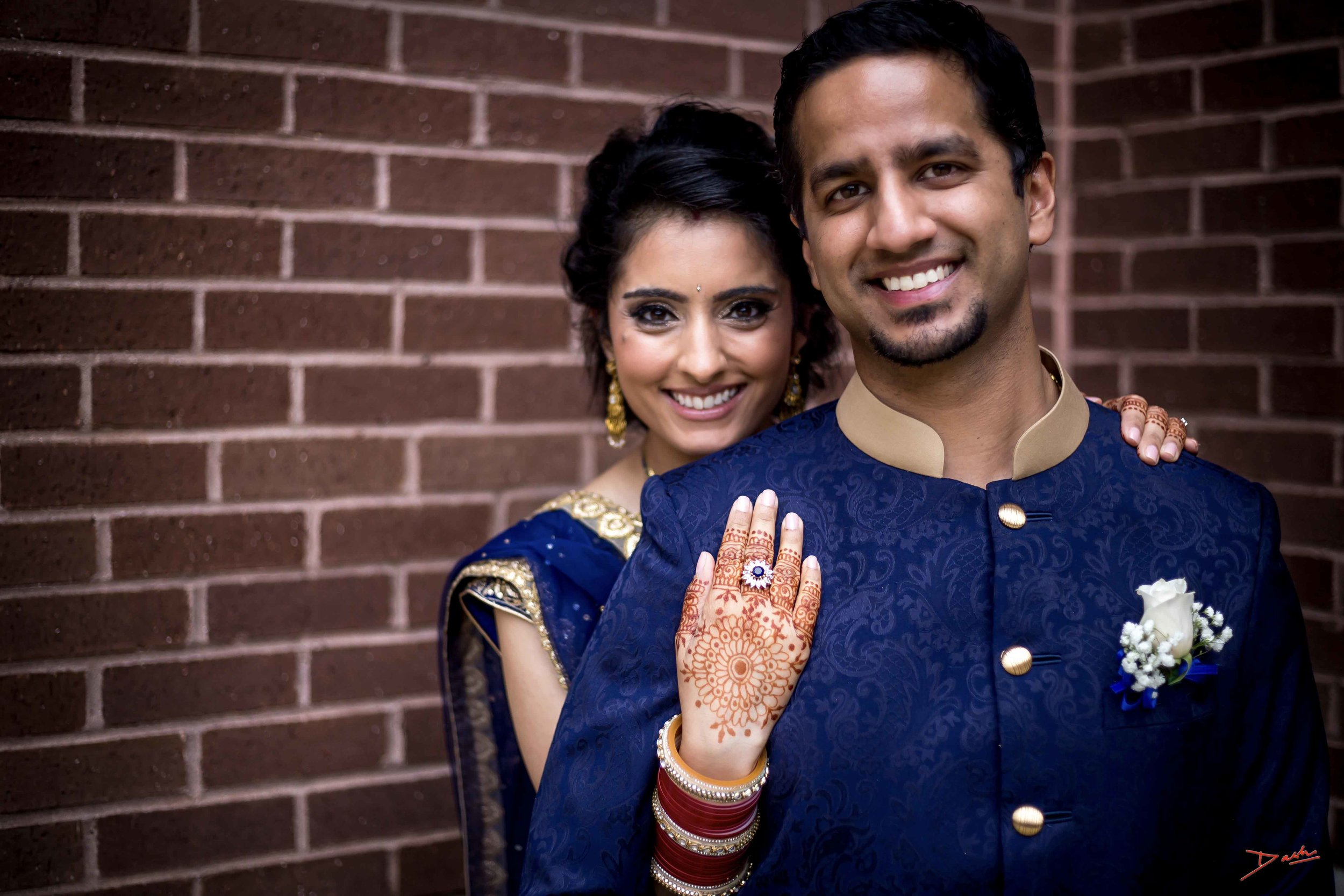 Indian Couple Wedding Photographer in Memphis Collierville TN.jpg