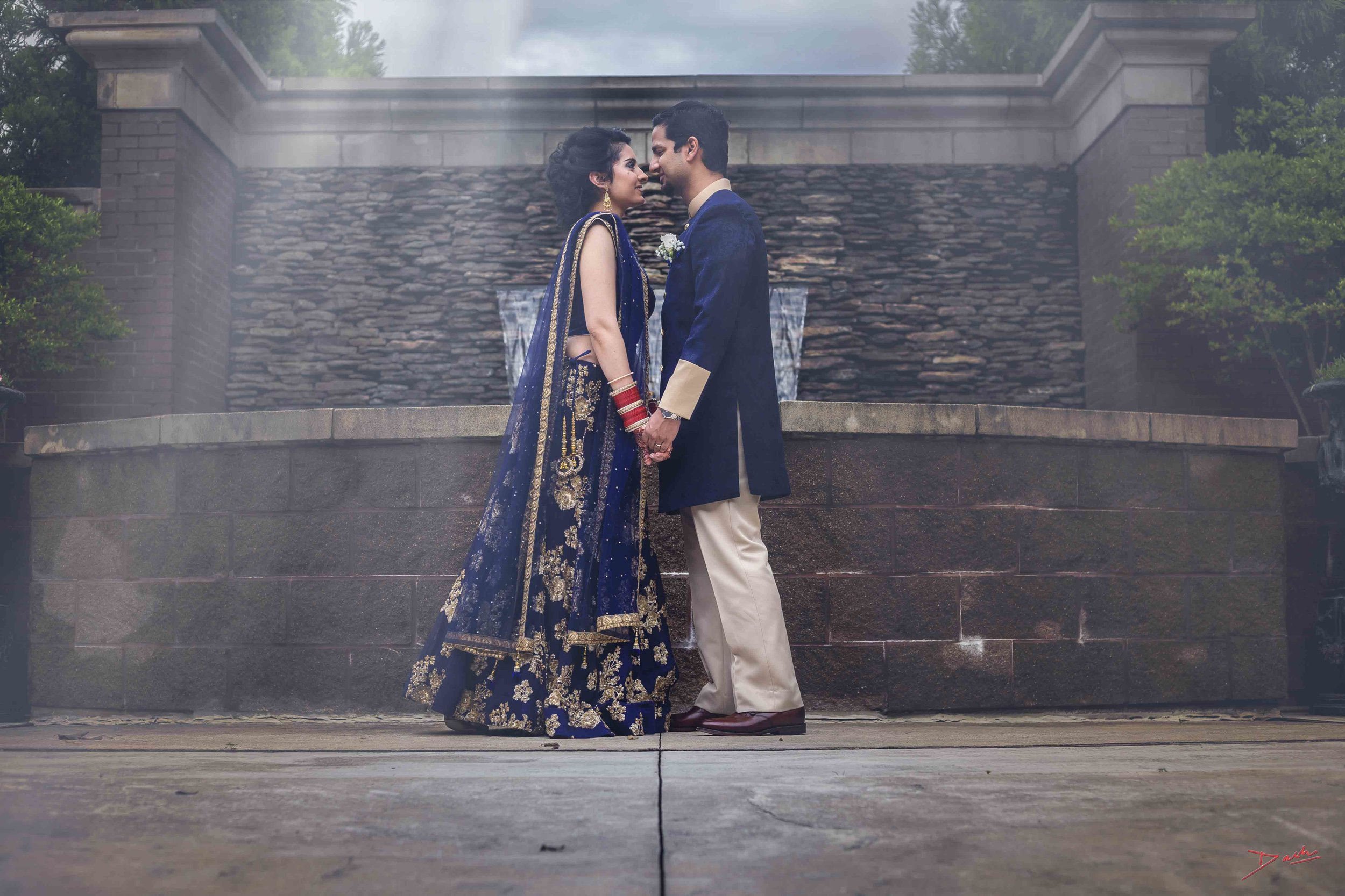 Indian wedding  photographer & pose in memphis collierville tn.jpg