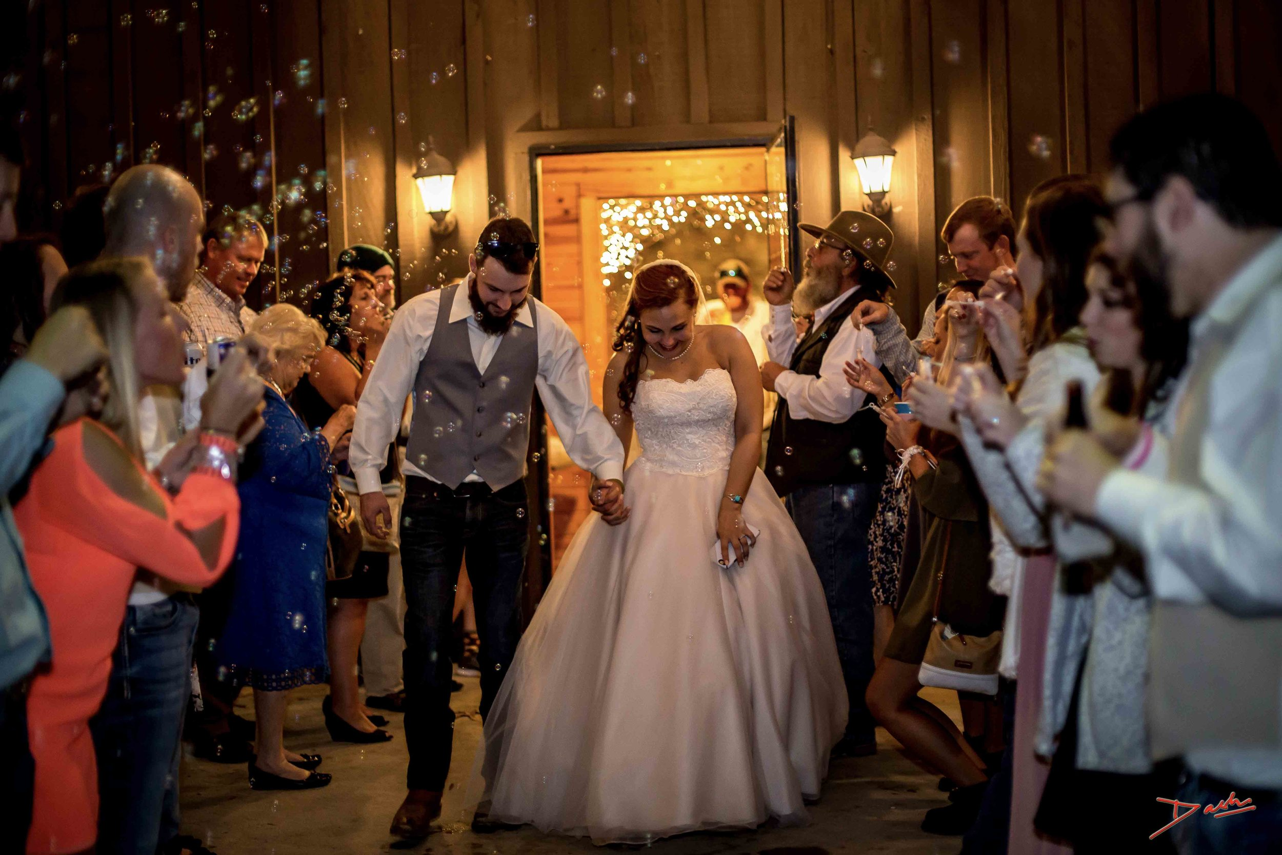 wedding photographer gallery Bubbles exit in Memphis Collierville TN.jpg