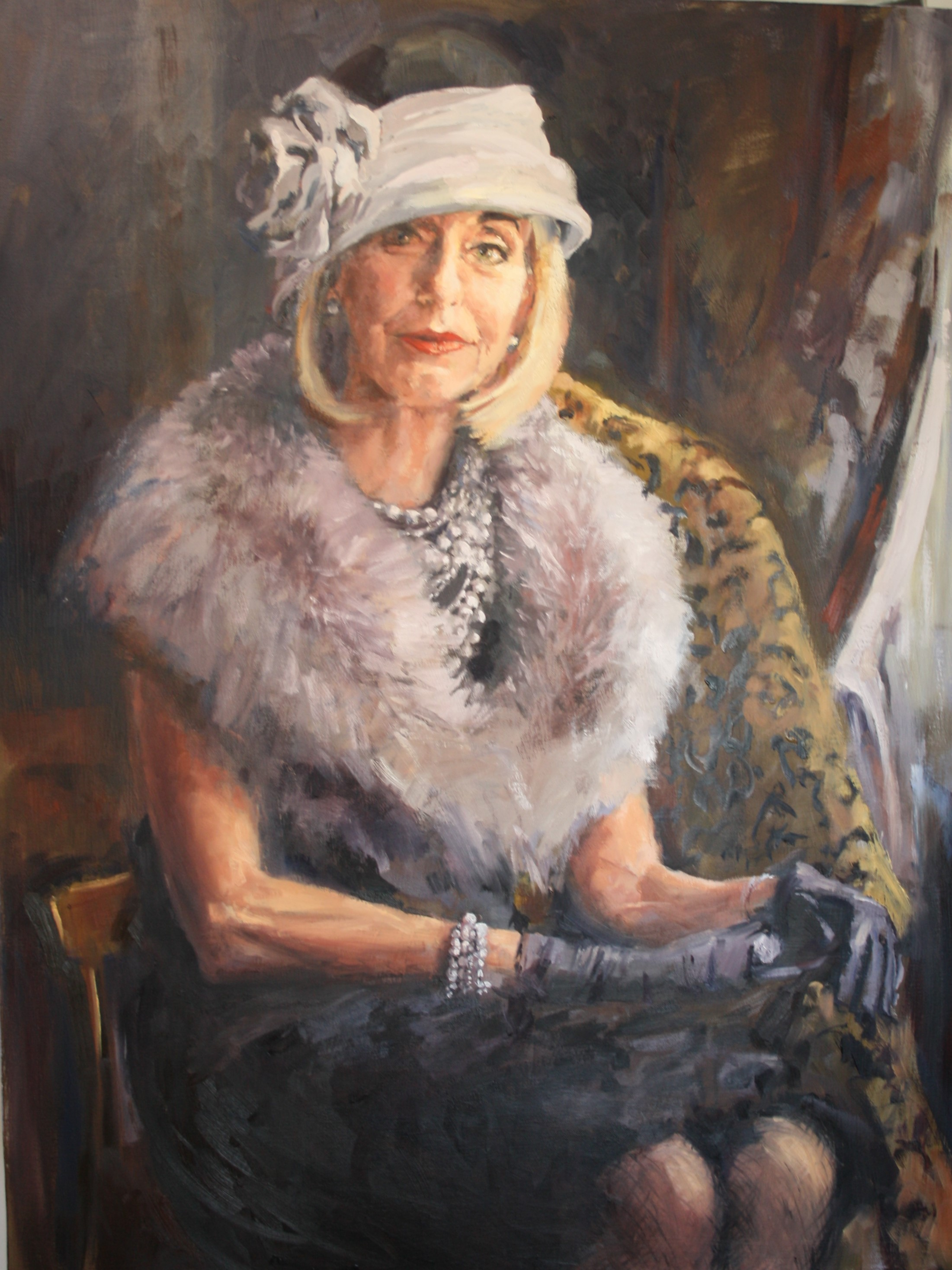 Portrait of Marie Statham, Mayor of Lithgow 2016