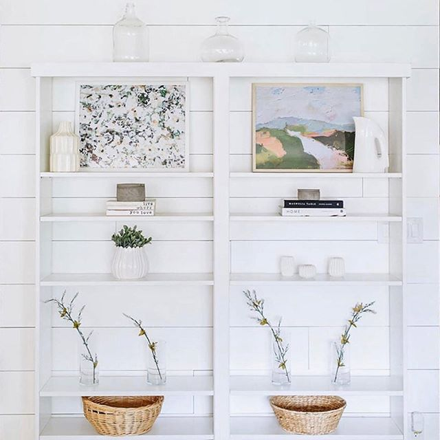 Sometimes you need to see your art up in other homes to keep your chin up! That's what this picture did for me (@finderskeepersdesigns and her beautiful shelving). As hard as I can be on myself of art not selling like I hoped or getting down on myself with how much of a time sucker all this can be, I always come to the realization that it's okay! You don't have to have x amount of sales, posts or product to feel good about what you're doing, just a few good people who resonate with what you have to give. If you're proud of how hard you're trying then what else matters. That's the gold! Know your people AND yourself and love them hard! I can't say it enough, thank you for being here, liking, commenting and purchasing my art. Thank you SO MUCH.
