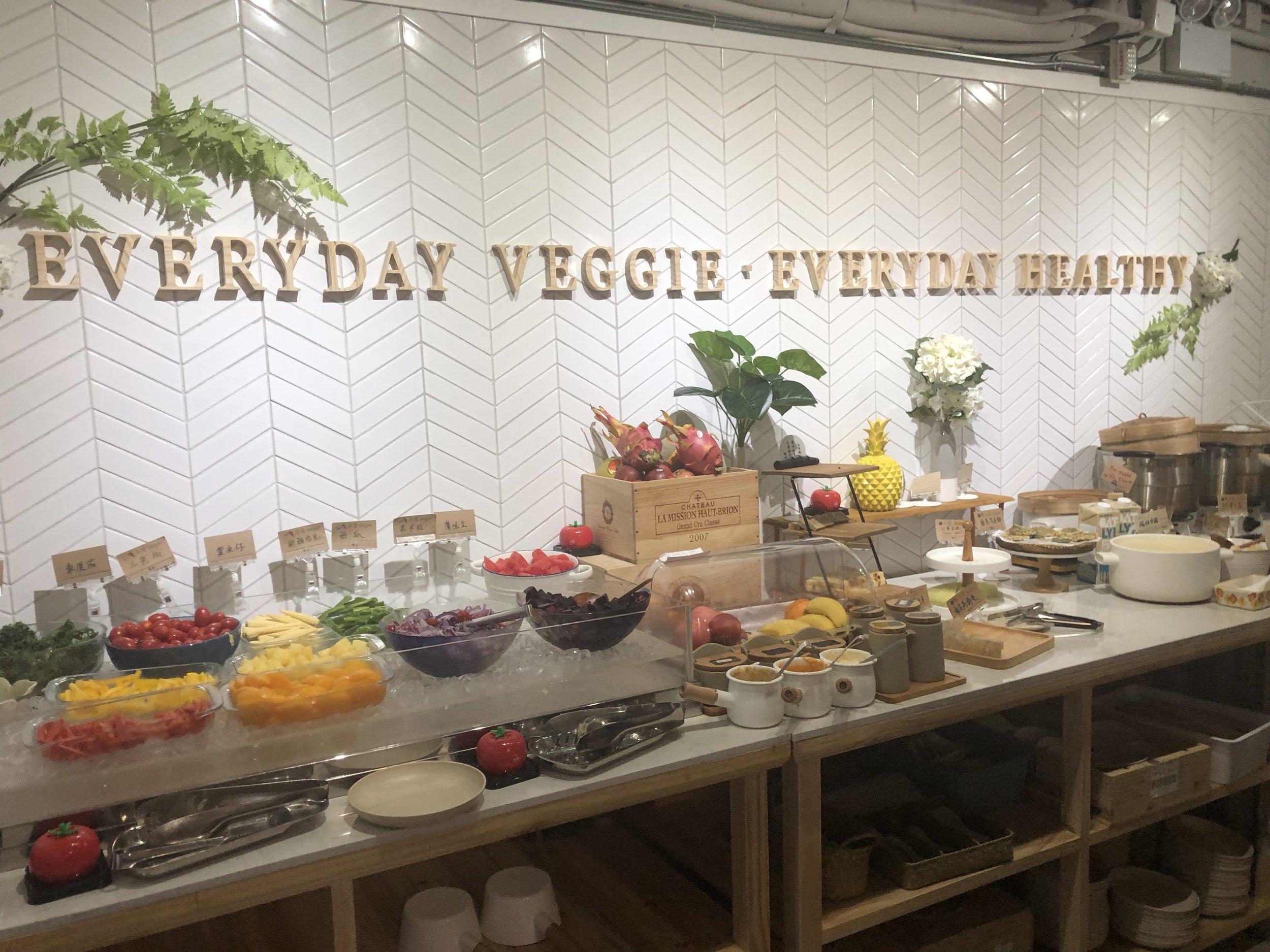 "At ""Everyday Veggie"" - quite self-explanatory tbh :P"