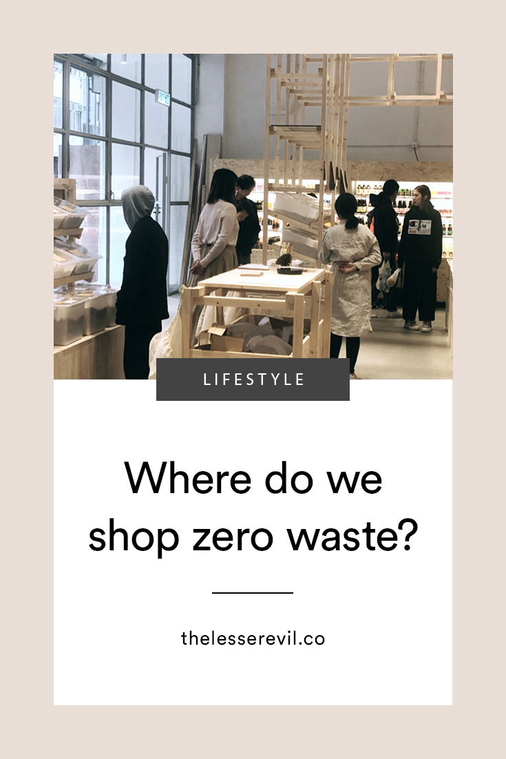 Where do we shop Zero Waste_TheLesserEvil
