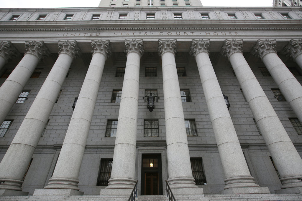 A lawsuit filed in Federal District Court in Manhattan on Tuesday said a policy that has immigrants appearing before judges by videoconference was unconstitutional.