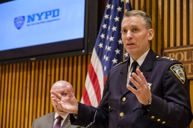 NYPD Chief of Detectives Dermot Shea (Jeff Bachner/for New York Daily News)