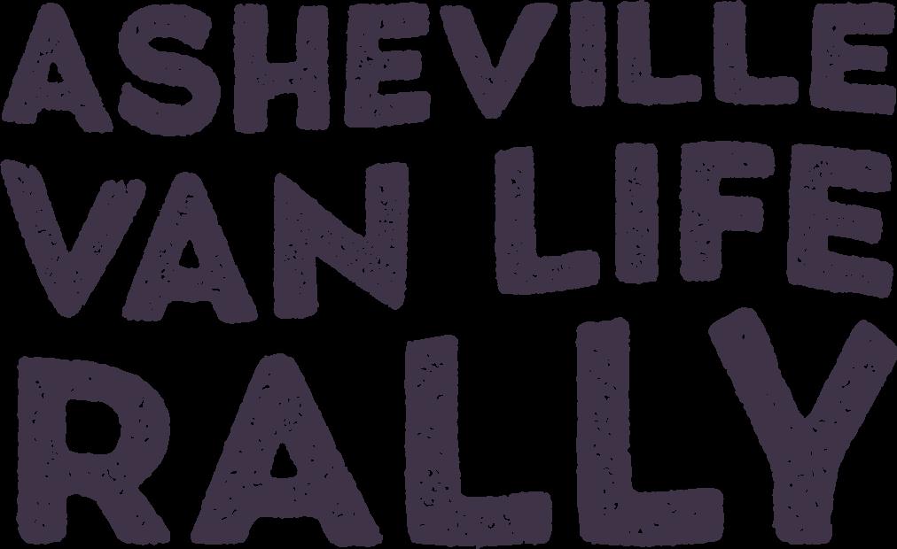 asheville van life rally logo