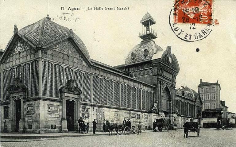 Marché Couverte Agen 1884-1970