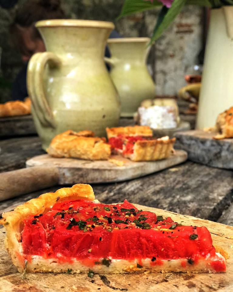 Kate's famous Tomato Tart means Summer season has started!