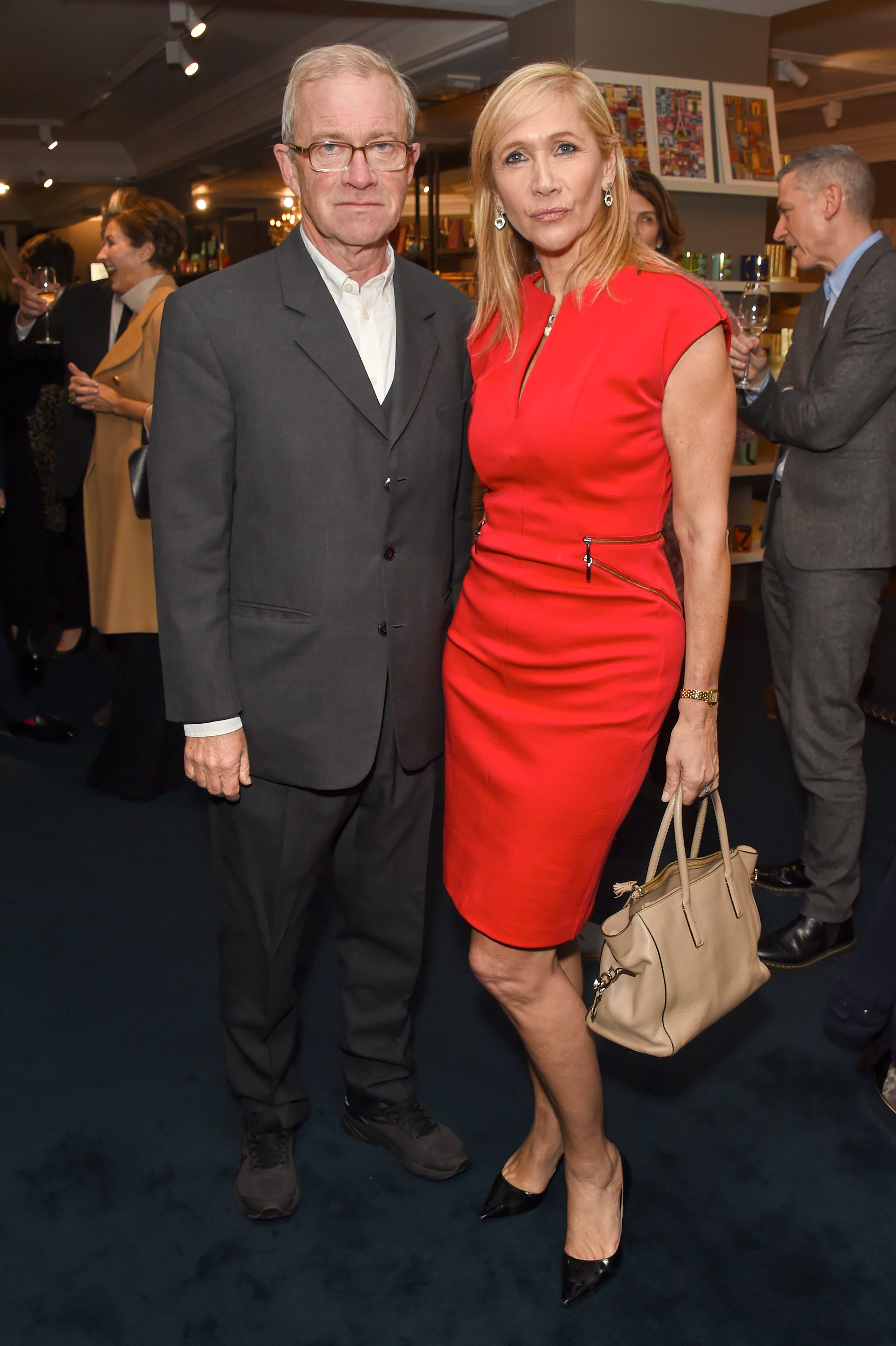 Harry Enfield and Tania Bryer. Courtesy of Dave Benett.