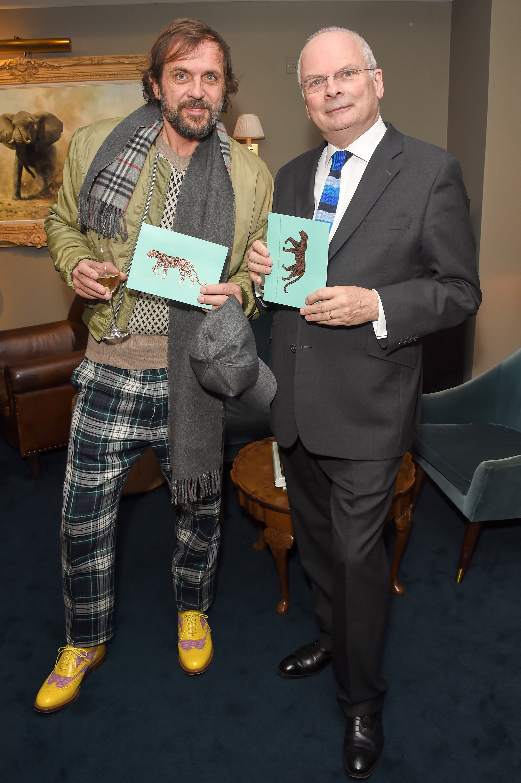 Andreas Kronthaler and Geoffrey Mann. Courtesy of Dave Benett.