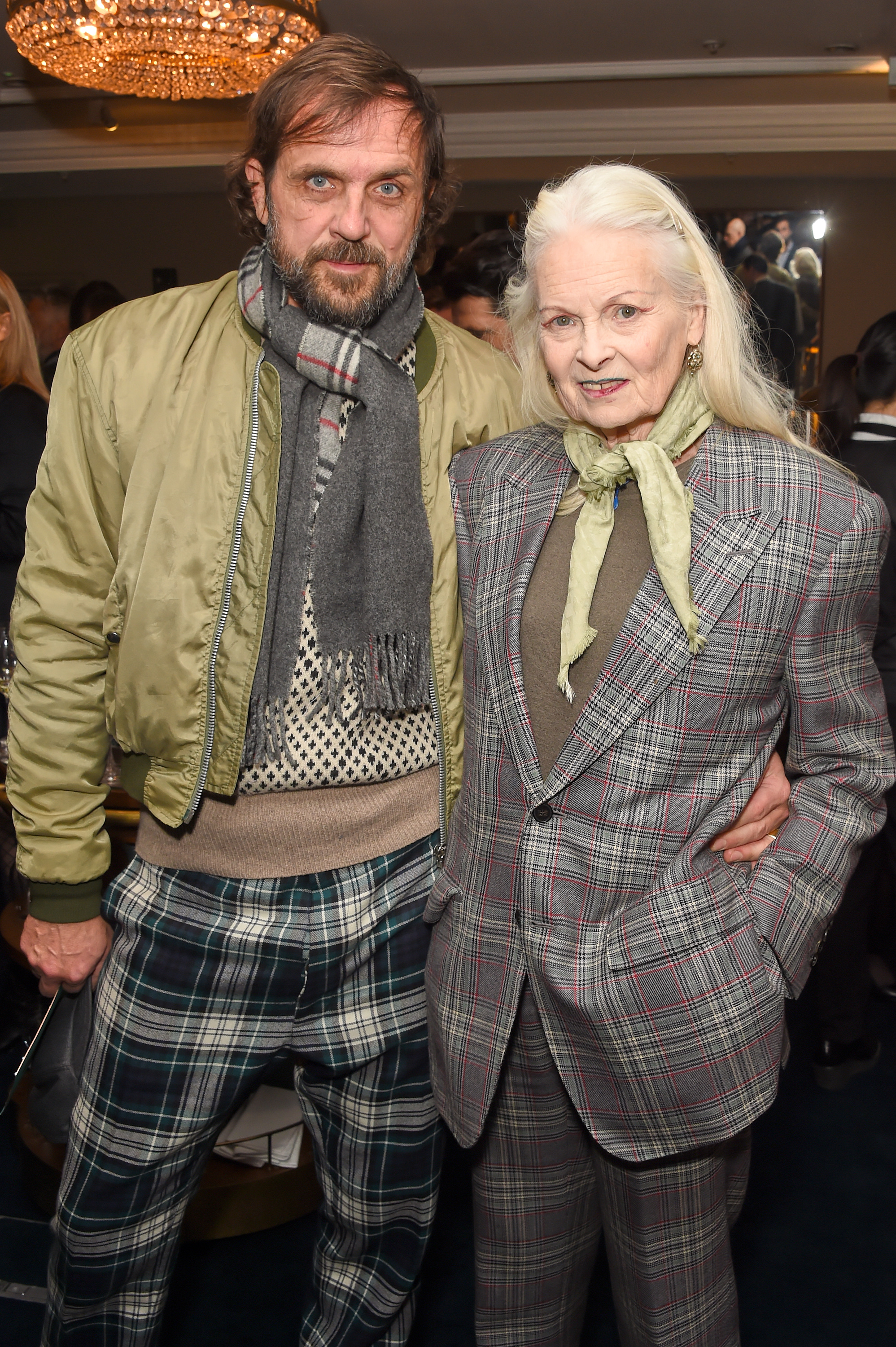 Andreas Kronthaler and Dame Vivienne Westwood. Courtesy of Dave Benett.