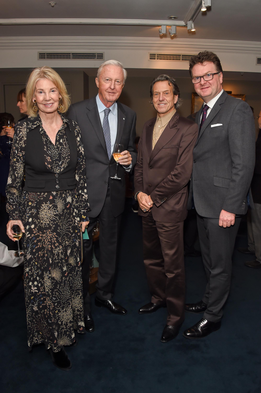 Hilary Weston, Galen Weston, Stephen Webster and Ewan Venters. Courtesy of Dave Benett.