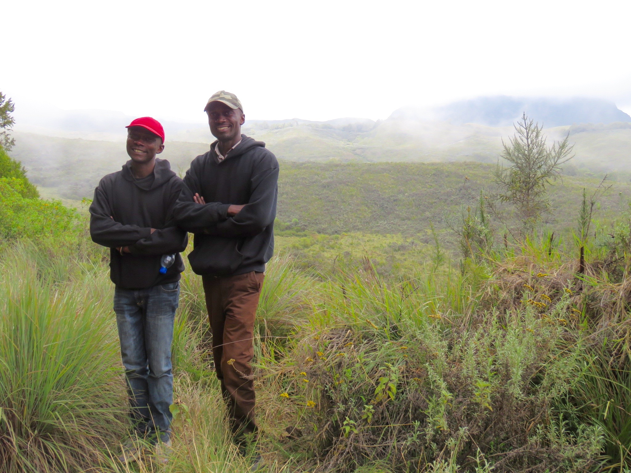 Brothers, Eliud and Peter at Mount Kenya National Park
