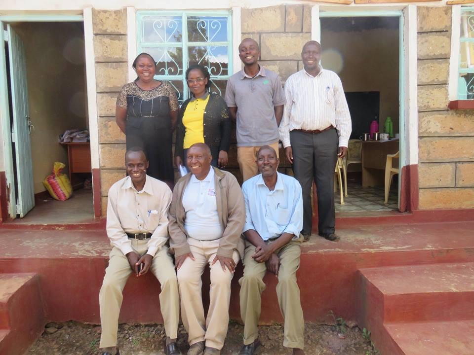Josphat Garama, David Mbae (Chairman), Justus Marangu, Millicent Garama, Rebbeca Mwotune, Eliud Tsuma, Ashford Kinyua