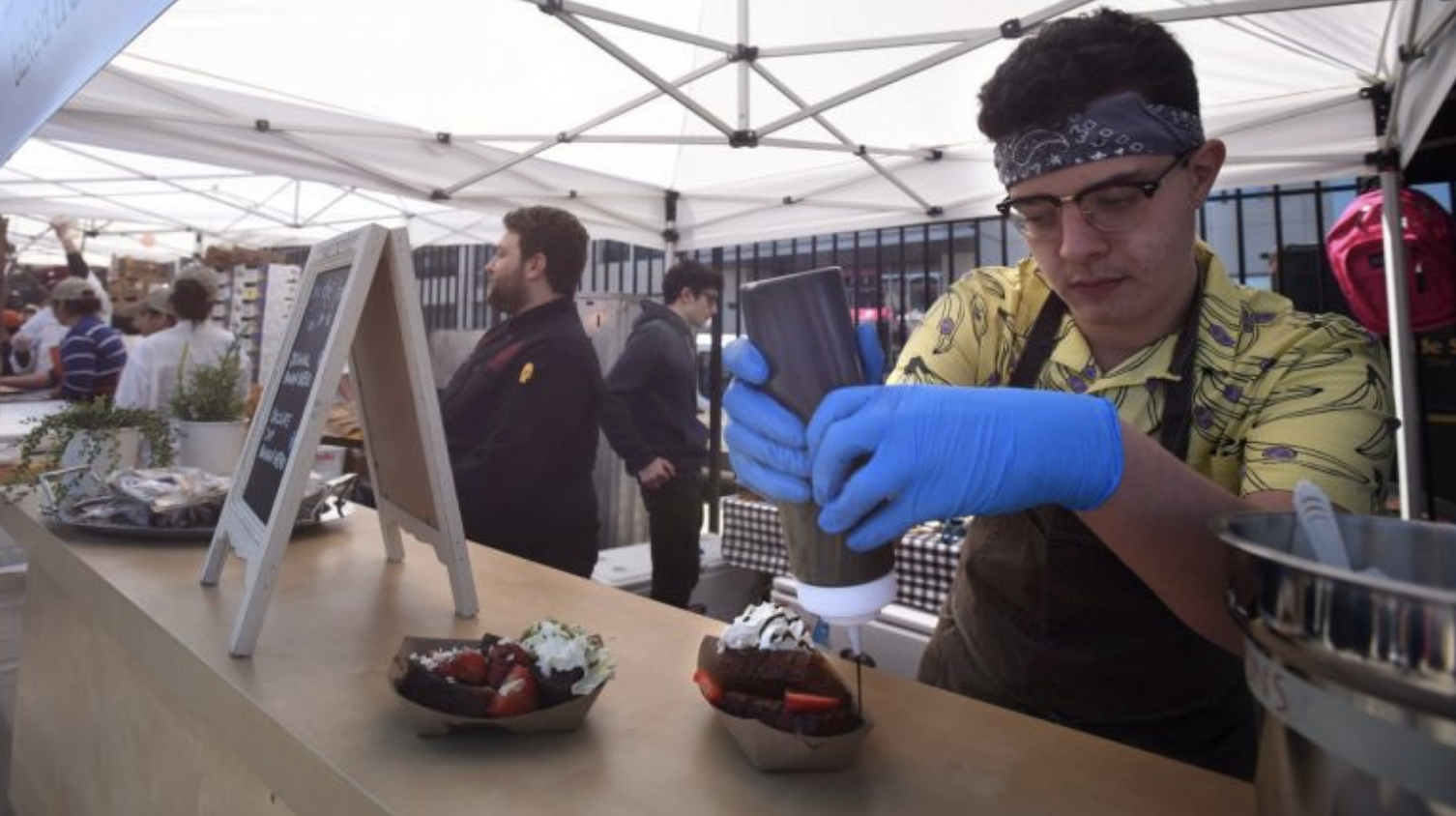 Smorgasburg newcomer is 14-year-old Jack Greenleaf - To read more check out the AM New York article.