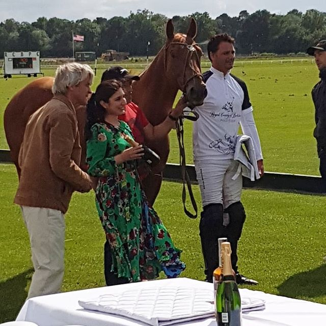 What an absolute honour to host a 5 course menu @rcb.poloclub today, all organised by @wefifo_  It was a Menu, inspired by Polo played in Northern Pakistan and was served just before the John Prestwich Final. Thankyou to everyone who came, swipe across to see what was on the menu! 🐎❤🍽