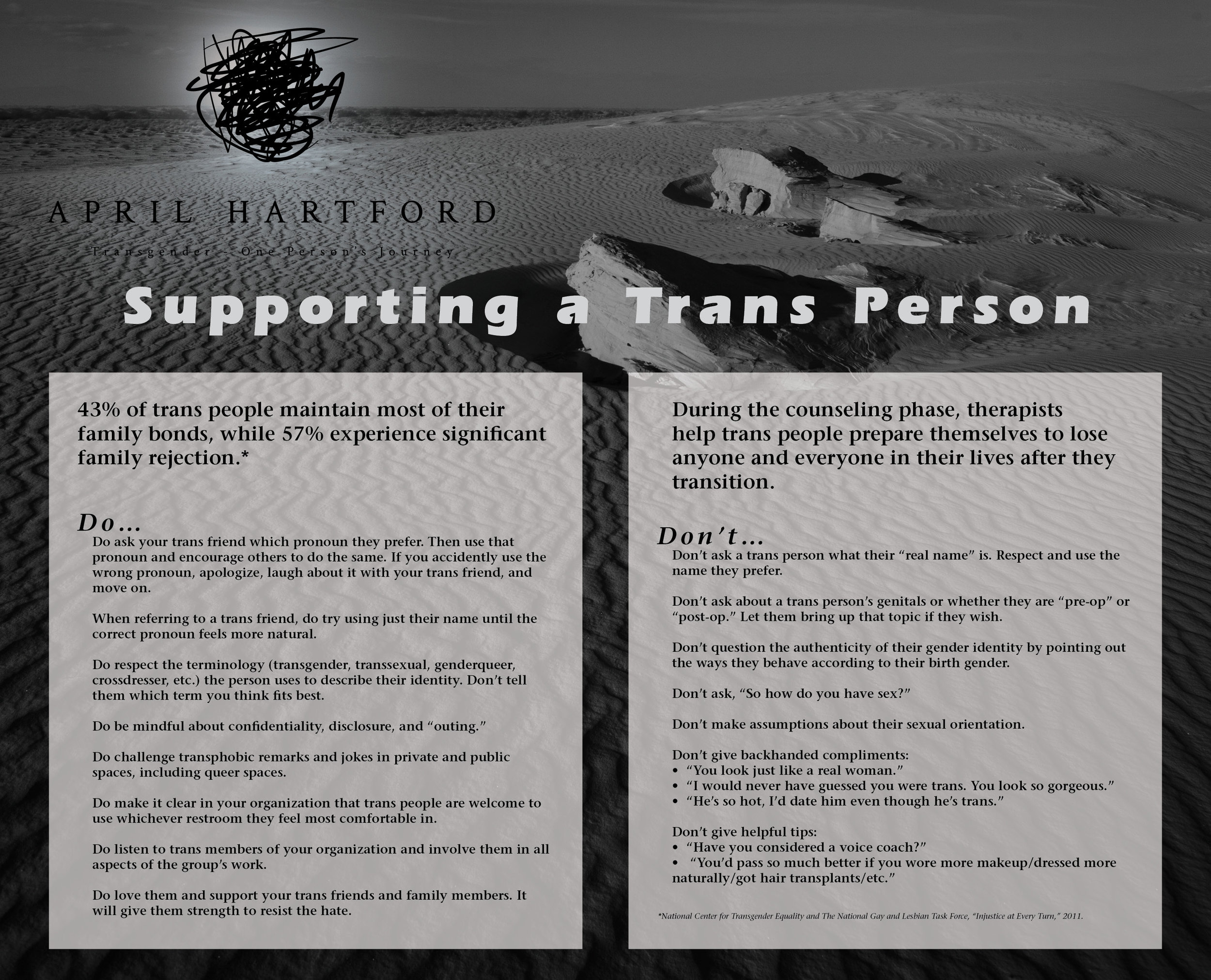 Supporting a Trans Person